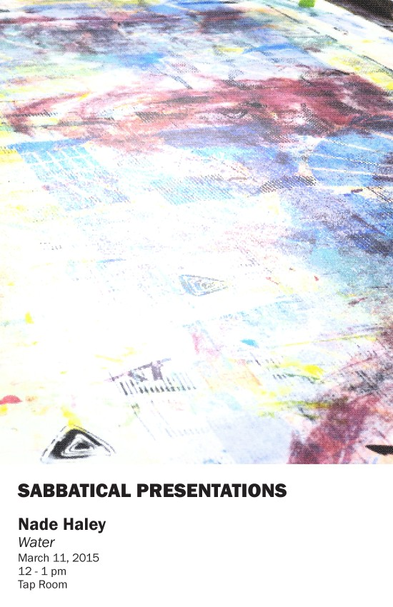 AA sabbatical presentations poster mar11 haley-page-0