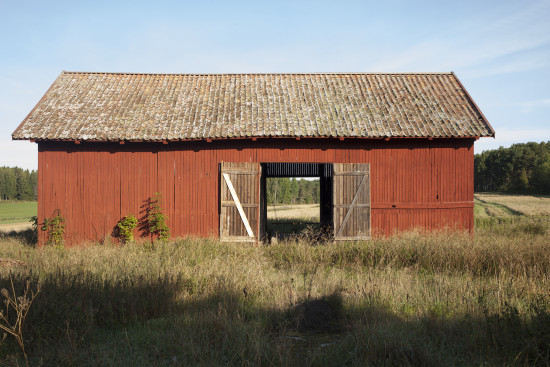 barn in Kalbo, Sweden where Rejmyre Art LAB host their post-MFA workshops