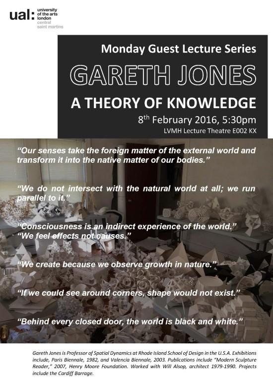 Jones Lecture