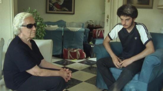 Katina & Lucas sit